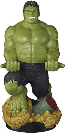 Comprar Exquisite Gaming - Cable guy XL Hulk, soporte de sujeción o carga para mando de consola, smartphone y tableta con licencia de Marvel Avengers Endgame