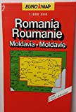 Romania Roumanie: Moldavia Moldavie Euro Map