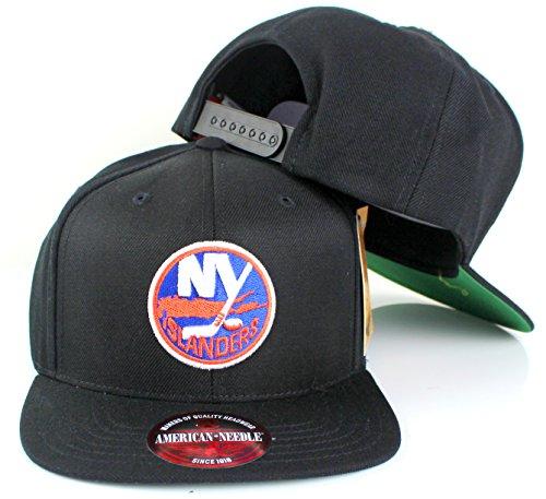 American Needle 400 Series NHL Team Hat, New York Islanders, Black (400A2V-NYI)