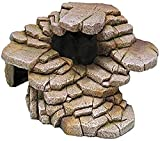 Penn-Plax Shale Step Ledge and Cave Hide-Out Medium