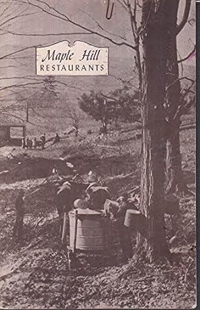 Maple Hill Restaurants Hartford West Hartford Ct Menu 11