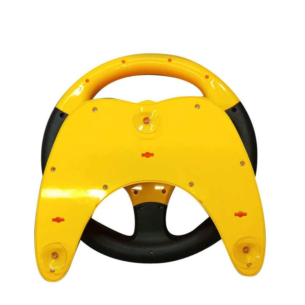 Carrfan I Bambini imitano Il copilota Simulato Il Volante di Guida Pretend Portatile Gioca Il Giocattolo Sviluppando Il Senso della direzione