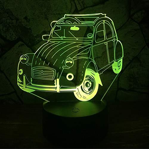 Baobaoshop Amroe Claasic Vintage Car 7 Cambio de Color lapara Lava ...