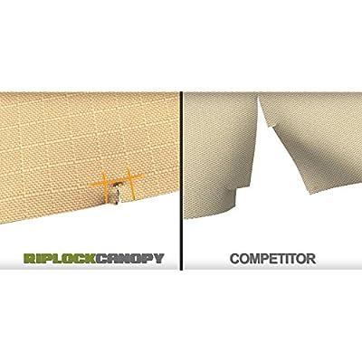 Garden Winds Replacement Canopy Top Cover for The Genoa Hexagon Gazebo - RipLock 350 : Garden & Outdoor