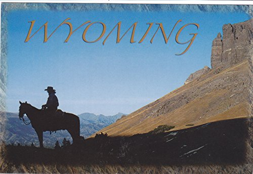 STATES0WYO - WYOMING PC-SHO-033 - Wyoming is a western U.S. state defined by vast plains and the Rocky Mountains. - A U.S. State POSTCARD .. from Hibiscus Express (Mountains Of Western Virginia And North Carolina)