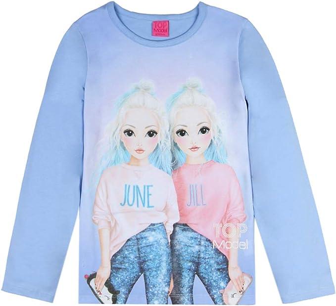 Top Model Jill T-Shirt Shirt Kurzarmshirt kurzarm Baumwolle Weiß