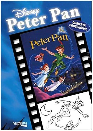 Grandes Clásicos Para Colorear Peter Pan Hachette Heroes Disney