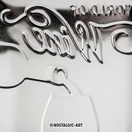 Acciaio Multicolore 30x0x20 Nostalgic-Art 40361132226 Targhe