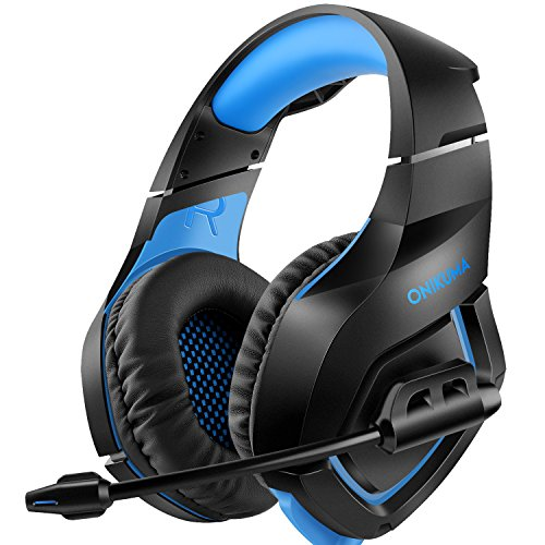 Willnorn Gaming Headset for PS4 Xbox One Controller Nintendo Switch PC Laptop Mac Game with Mic Over Ear Headphone High Performance Stereo Sound with Bass by Willnorn