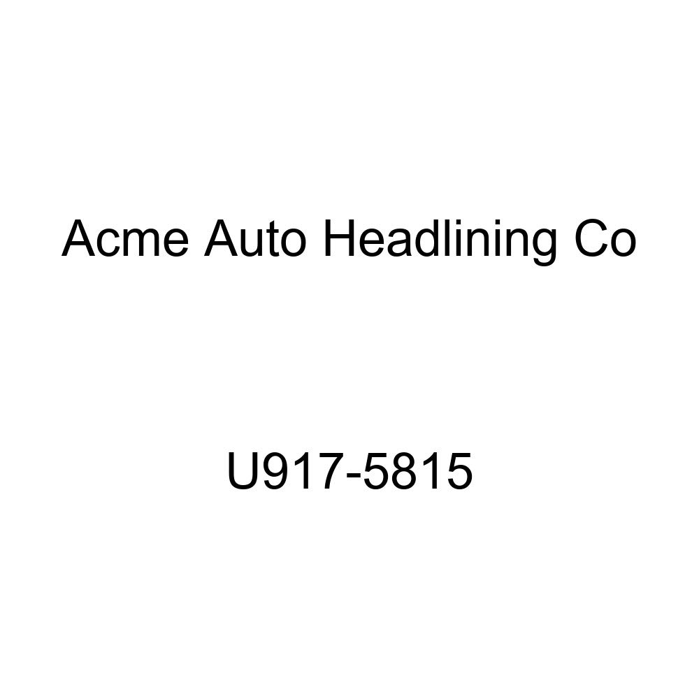 Acme U917-5815 Front and Rear Dark Charcoal Vinyl Bench Seat Upholstery