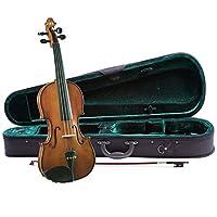 Equipo de violín para principiantes de Cremona SV-130 Premier, tamaño 1/2