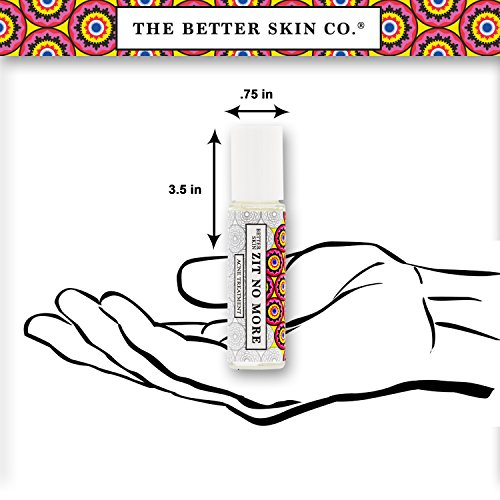 Mirakle Cream Skin Zit No More Acne Treatment By The Better Skin for Women - 0.2 Oz Treatment, 0.2 Oz