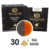 Best Tea For Ice Teas - Vahdam Teas Earl Grey Citrus, 15 Tea Bags Review