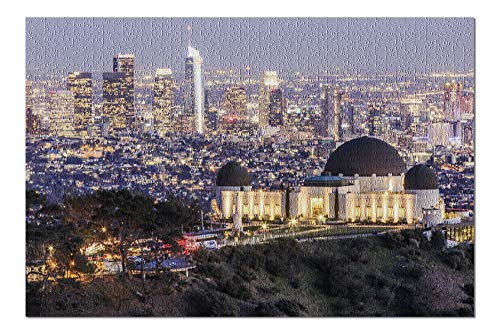 Los Angeles, California - Griffith Observatory Park - Photography A-92159 (20x30 Premium 1000 Piece Jigsaw Puzzle, Made in ()