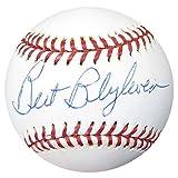Bert Blyleven Signed Official AL Baseball Twins, Indians - Beckett Authenticated