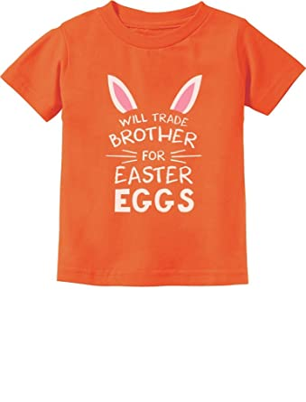 Amazon tstars trade brother for easter eggs siblings easter tstars trade brother for easter eggs siblings easter gift toddlerinfant kids t shirt negle Gallery