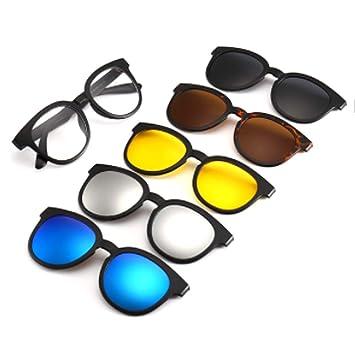 hlq Gafas de Sol de los Hombres, Gafas de Exterior ...