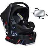 Britax B-Safe Ultra Infant Car Seat with Back Seat Mirror - Noir