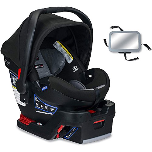 Britax B-Safe Ultra Infant Car Seat with Back Seat Mirror – Noir