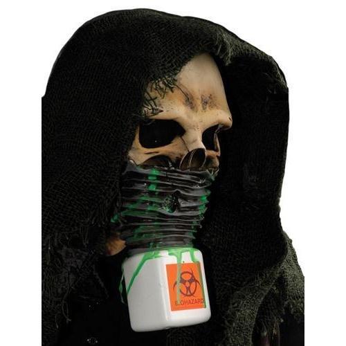 Zagone Survivor Mask, Skull with Hood & Bio Hazard Mask -