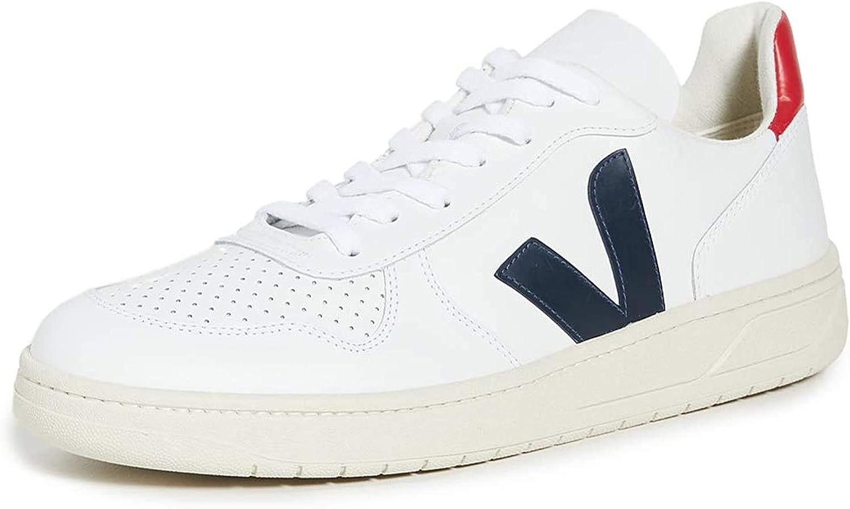 White V10 Leather Sneakers for men - 46