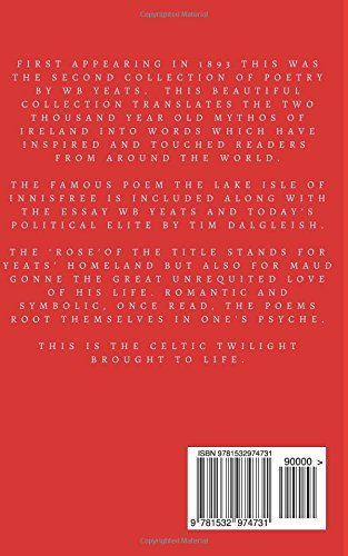 The Rose William Butler Yeats Tim Dalgleish 9781532974731 Amazon