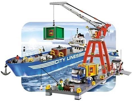 Juegos 7994 PuertoAmazon esJuguetes City Lego Y OPnw08k
