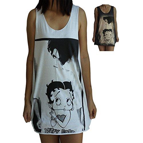 (Robert Smith The Cure Vest Tank-Top Singlet Sleeveless T-Shirt Mens Womens ladies Unisex XL Brown)