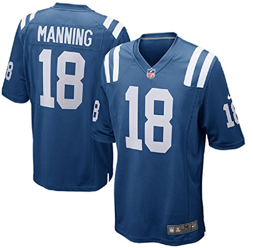 Peyton Manning Nfl Jersey - Peyton Manning Indianapolis Colts Nike Royal Retired Player Game Jersey - Men's Large