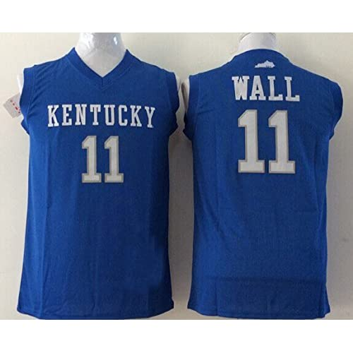 info for 56d66 bfbe5 outlet Men's Kentucky Wildcats NO.11 WALL Basketball Jersey ...