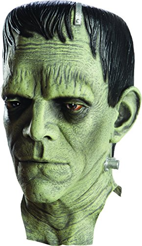 Rubie's Men's Universal Monsters Frankenstein Deluxe Overhead Mask, as as Shown, One Size -