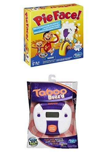 経典ブランド Family Game Night And Bundle Pie Face Game Buzz'd And Bundle Taboo Buzz'd B018TNYKL4, アイソル:330f9546 --- efichas.com.br