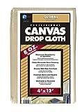 Premier 4' x 12' Standard Canvas Drop Cloth, 8