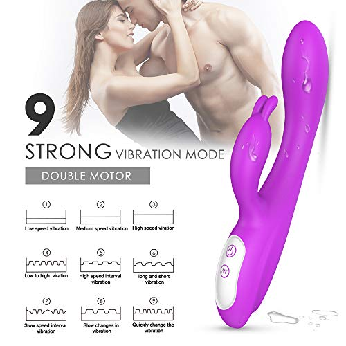 [해외]7 Strong Vibration Modes six Toys for Female Waterproof Rabbit Lifelike Toys for Women T Shirt / 7 Strong Vibration Modes six Toys for Female Waterproof Rabbit Lifelike Toys for Women T Shirt