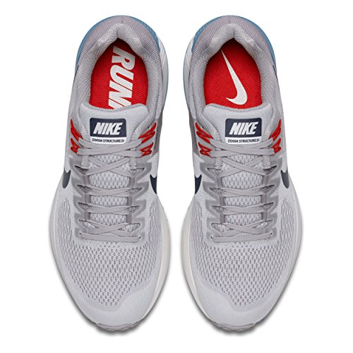 21 Running Scarpe Vast 004 Nike Uomo Structure Air Thunder Grey Zoom Multicolore tqw7XB