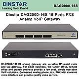 Dinstar DAG2000-16S FXS Analog VoIP Gateway