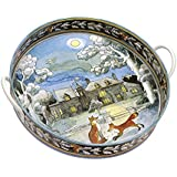 """EMMA BRIDGEWATER / MATTHEW RICE """"Year In The Country Winter"""" Tray, Multi-Colour"""
