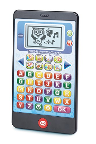 VTech Text and Go Learning Phone (Best Electronic Learning Devices For Toddlers)