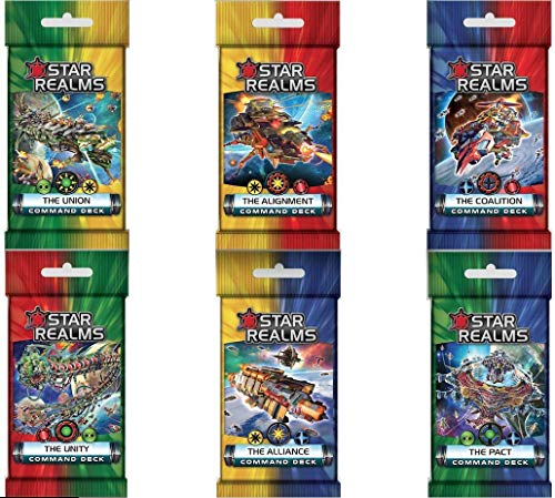 Star Realms: The Alignment, Alliance, Coalition, Pact, Union, Unity Command Deck Set