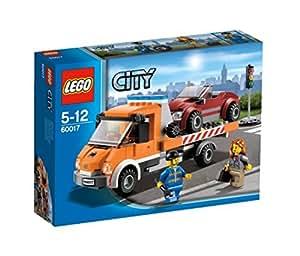 LEGO CITY - Grandes vehículos: camión plataforma (60017)