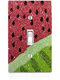 Watermelon Design Print Image Light Switch Plate
