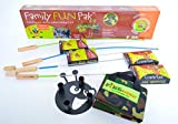 Firebuggz - Fire Fishing Pole Family Fun Set Hot Dog Marshmallow Roasters