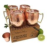 Moscow Mule Copper Mug Set (4)