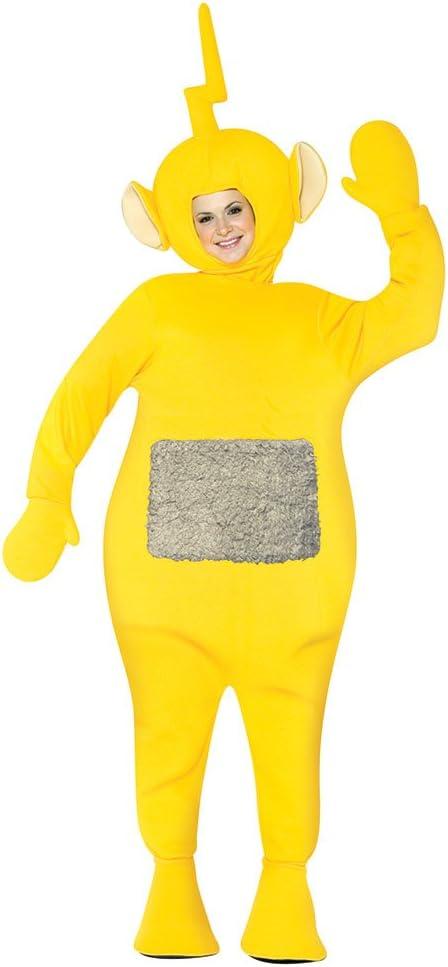 Teletubbies Laa-Laa Adult Fancy dress costume Standard: Amazon.es ...
