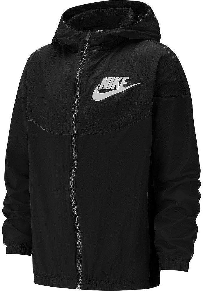 Nike Veste Coupe Vent Sportswear Woven Noir M EU (137 146 cm