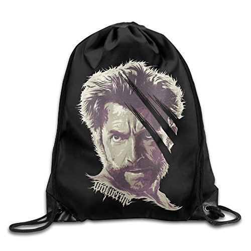 X-Men Wolverine Sport Backpack Drawstring Print Bag