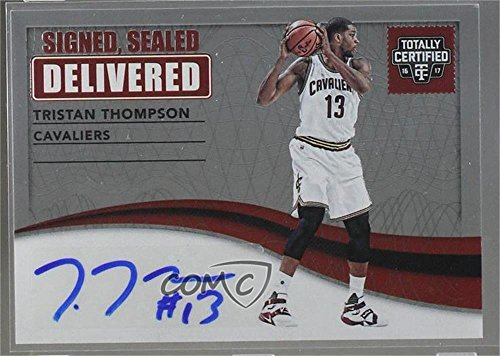 Tristan Thompson #/75 (Basketball Card) 2016-17 Panini Totally Certified - Signed, Sealed, Delivered #12