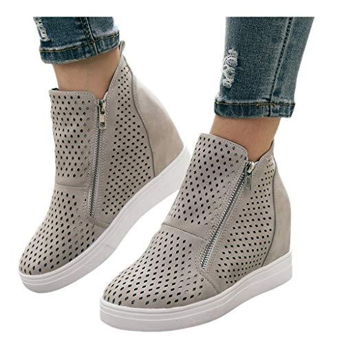 soda cork heels wedges - 4