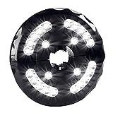 KOBWA Waterproof Patio Umbrella Light, Cordless 200LM 24 LED Lights With 3 Brightness Modes Umbrella Pole Lamp For Umbrella, Camping Tent, Outdoor