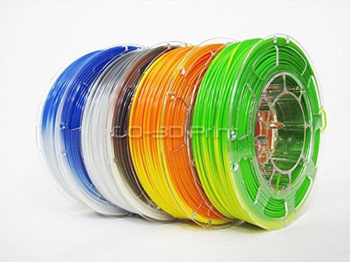GO-3D PRINT Temperature Color Changing PLA 3D Print Filament Mini Value Pack 1.75mm 4x 225g